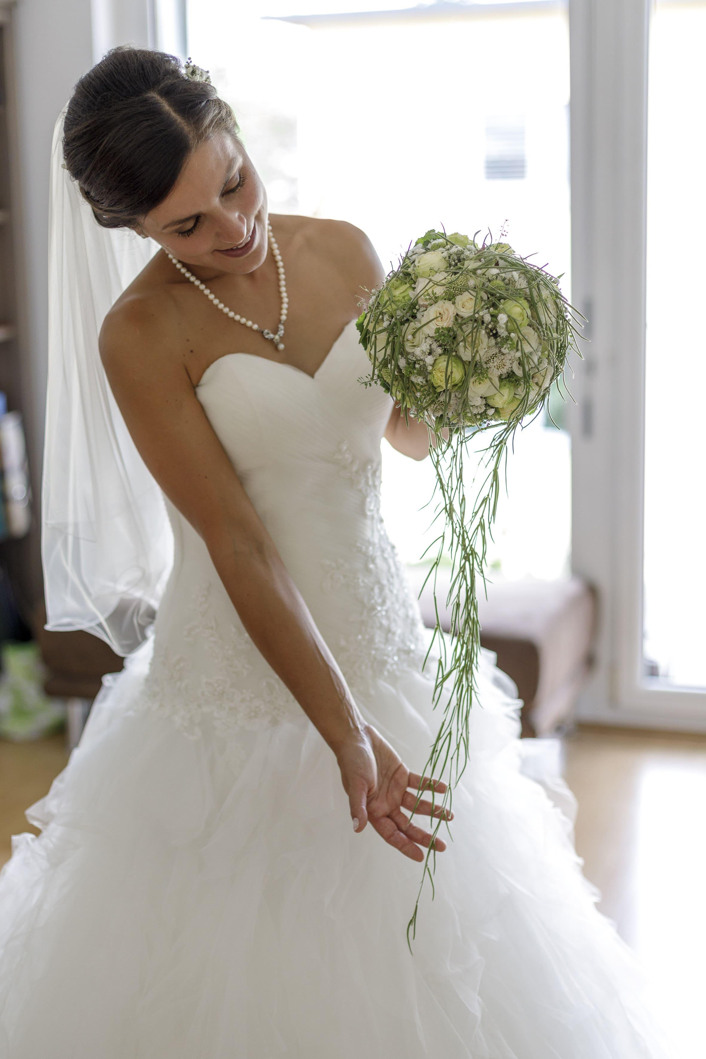 Hochzeitsfloristik bei Natürlich Fabienne Naturfloristik