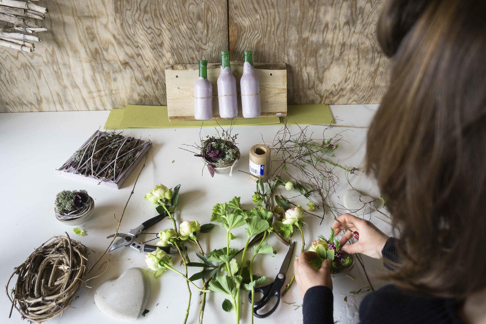 Naturfloristik Werkstatt in Mäder