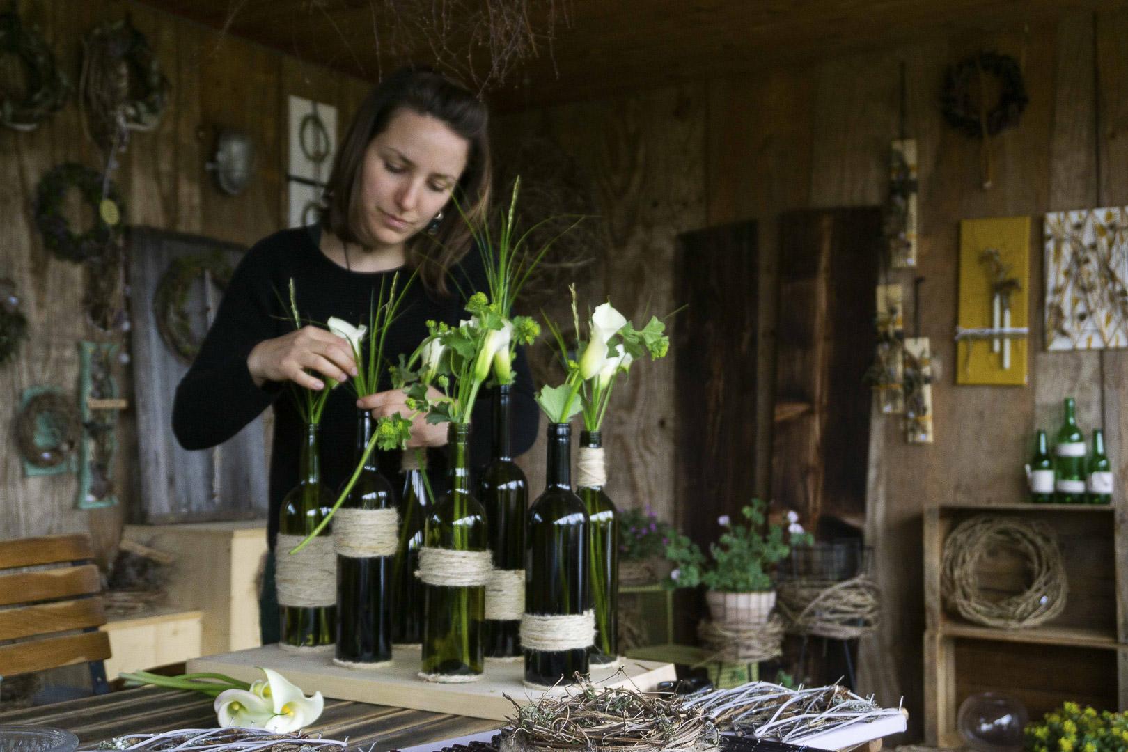 Naturfloristik Atelier in Mäder