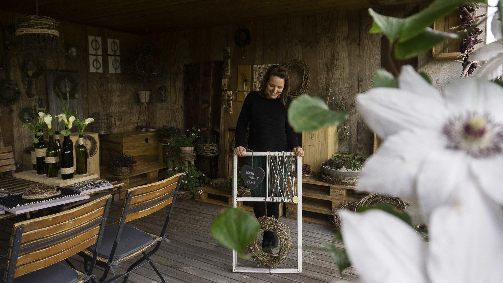 Naturfloristik Atelier mit Floristin Fabienne Waibel