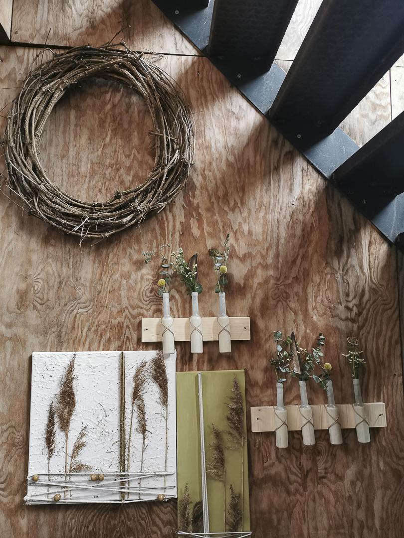 Türkränze Wandkränze aus Naturmaterialien